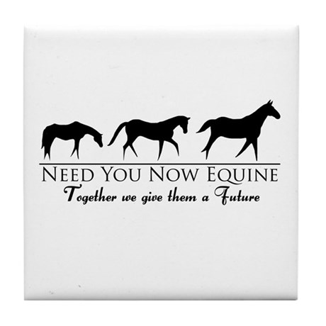 Need You Now Equine Tile Coaster