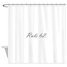 E Shower Curtain