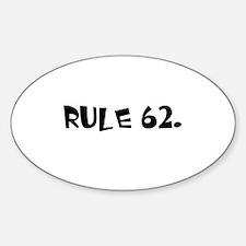 F Sticker (Oval)