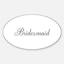 Bridesmaid Decal