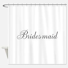 Bridesmaid Shower Curtain