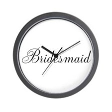 Bridesmaid Wall Clock