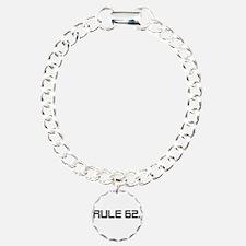 H Charm Bracelet, One Charm