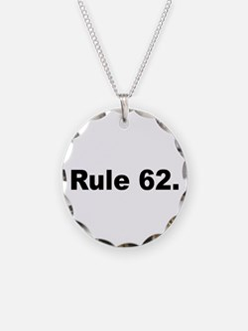I Necklace Circle Charm