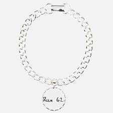K Charm Bracelet, One Charm