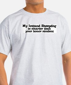 Honor Student: My Iceland She Ash Grey T-Shirt