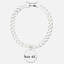 L Charm Bracelet, One Charm