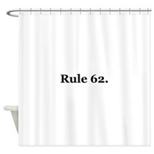 P Shower Curtain