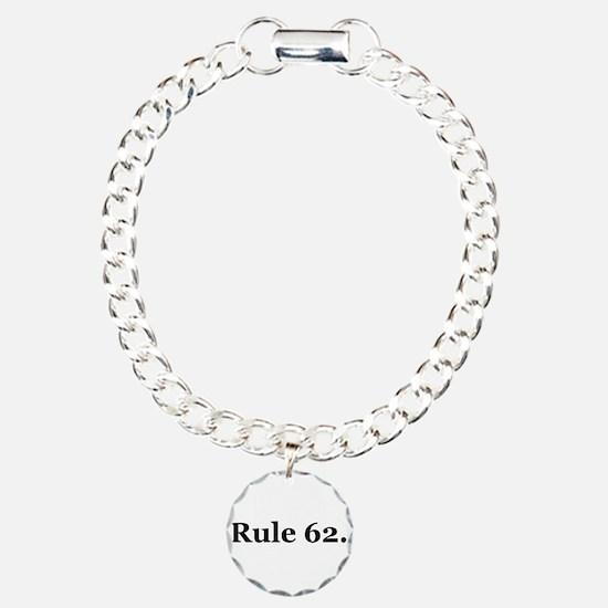 P Charm Bracelet, One Charm