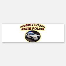 Pennsylvania State Police Bumper Bumper Sticker