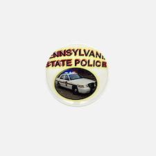 Pennsylvania State Police Mini Button (100 pack)