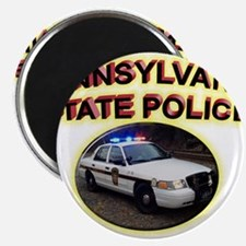 """Pennsylvania State Police 2.25"""" Magnet (100 pack)"""