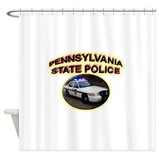 Pennsylvania State Police Shower Curtain