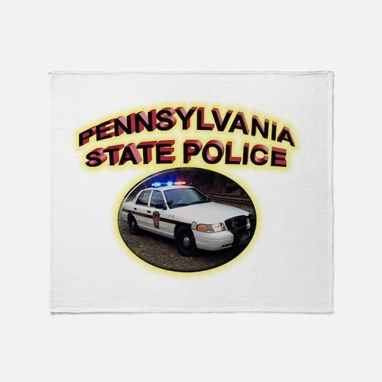 Pennsylvania State Police Throw Blanket