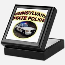 Pennsylvania State Police Keepsake Box