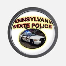 Pennsylvania State Police Wall Clock