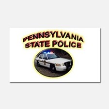 Pennsylvania State Police Car Magnet 20 x 12