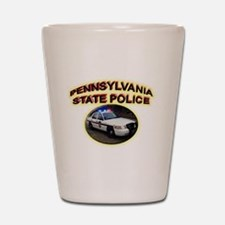 Pennsylvania State Police Shot Glass