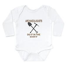 Archaeologists Do It Long Sleeve Infant Bodysuit