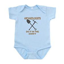 Archaeologists Do It Infant Bodysuit