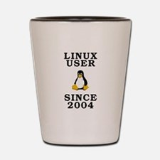 Linux user since 2004 - Shot Glass