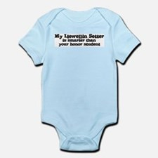 Honor Student: My Llewellin S Infant Creeper