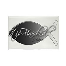 It is finished Rectangle Magnet (10 pack)