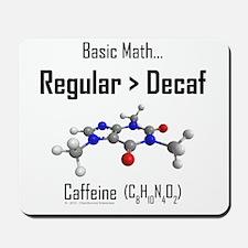 Regular vs Decaf Mousepad