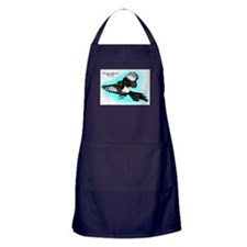Yellow-Billed Magpie Apron (dark)