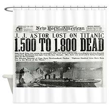 New York American Shower Curtain