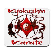 Kyokushin Karate Products Mousepad