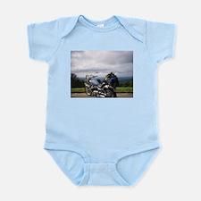Blue Ridge Parkway by motorcy Infant Bodysuit