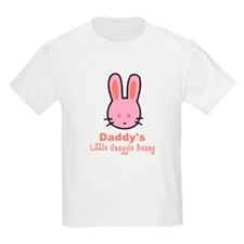 Daddy's Snuggle Bunny Girls T-Shirt