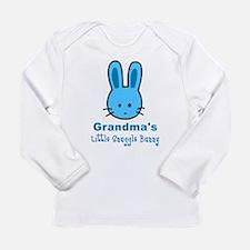 Grandma's Snuggle Bunny (Boy) Long Sleeve Infant T