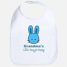 Grandma's Snuggle Bunny (Boy) Bib