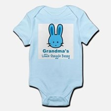 Grandma's Snuggle Bunny (Boy) Infant Bodysuit