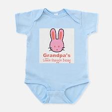 Grandpa's Snuggle Bunny Girl Infant Bodysuit