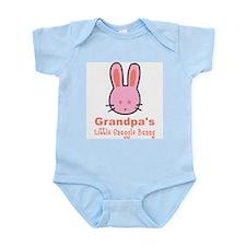 Grandpa's Snuggle Bunny Girl Onesie