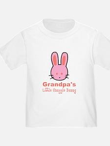 Grandpa's Snuggle Bunny Girl T