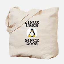 Linux user since 2005 - Tote Bag