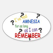 Amnesia Decal