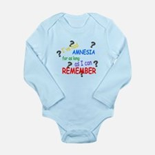Amnesia Long Sleeve Infant Bodysuit