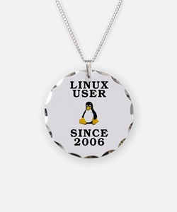 Linux user since 2006 - Necklace