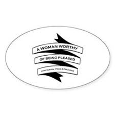 Jane Austen Gift Decal