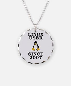 Linux user since 2007 - Necklace