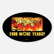 Four More Years? Decal