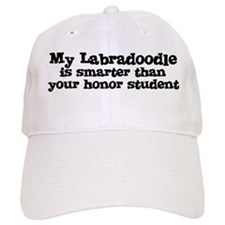 Honor Student: My Labradoodle Baseball Cap