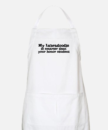 Honor Student: My Labradoodle BBQ Apron