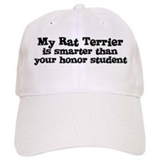 Honor Student: My Rat Terrier Baseball Cap