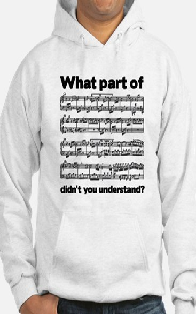 Partiture Hoodie Sweatshirt